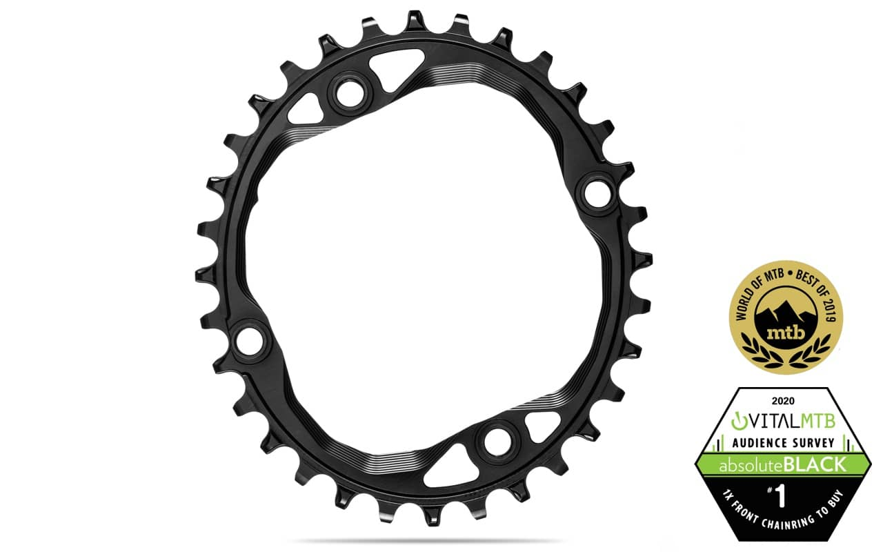 SRAM 32 Tooth 64mm BCD Aluminum Chainring Gray Use With 48T