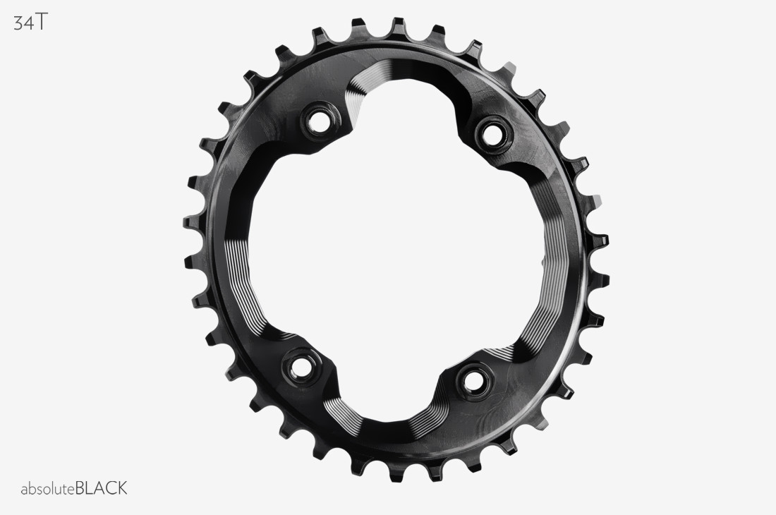 Absoluteblack 1x Oval Xtr M9000 Premium Chainring