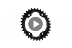 OVAL XTR M9000 chainring