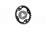 OVAL 94 BCD chainring