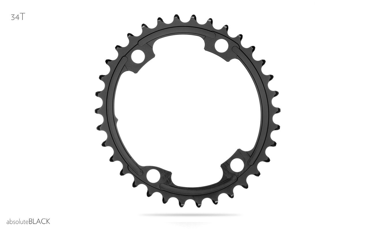 Absoluteblack Premium Road Oval 2x 110 4bcd Chainrings