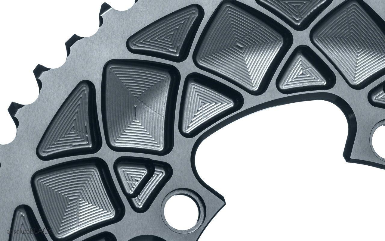 Absoluteblack Premium Road Oval 2x 110 4bcd Chainrings