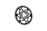 e13 oval guidering m direct mount traction chainring