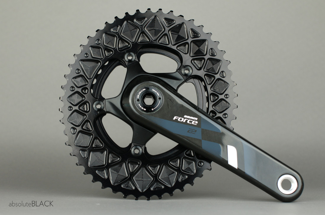 Absoluteblack Premium Oval Road Chainrings For Sram 2x