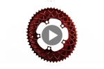 Sram Premium OVAL Road 2X 110/5 bcd chainrings