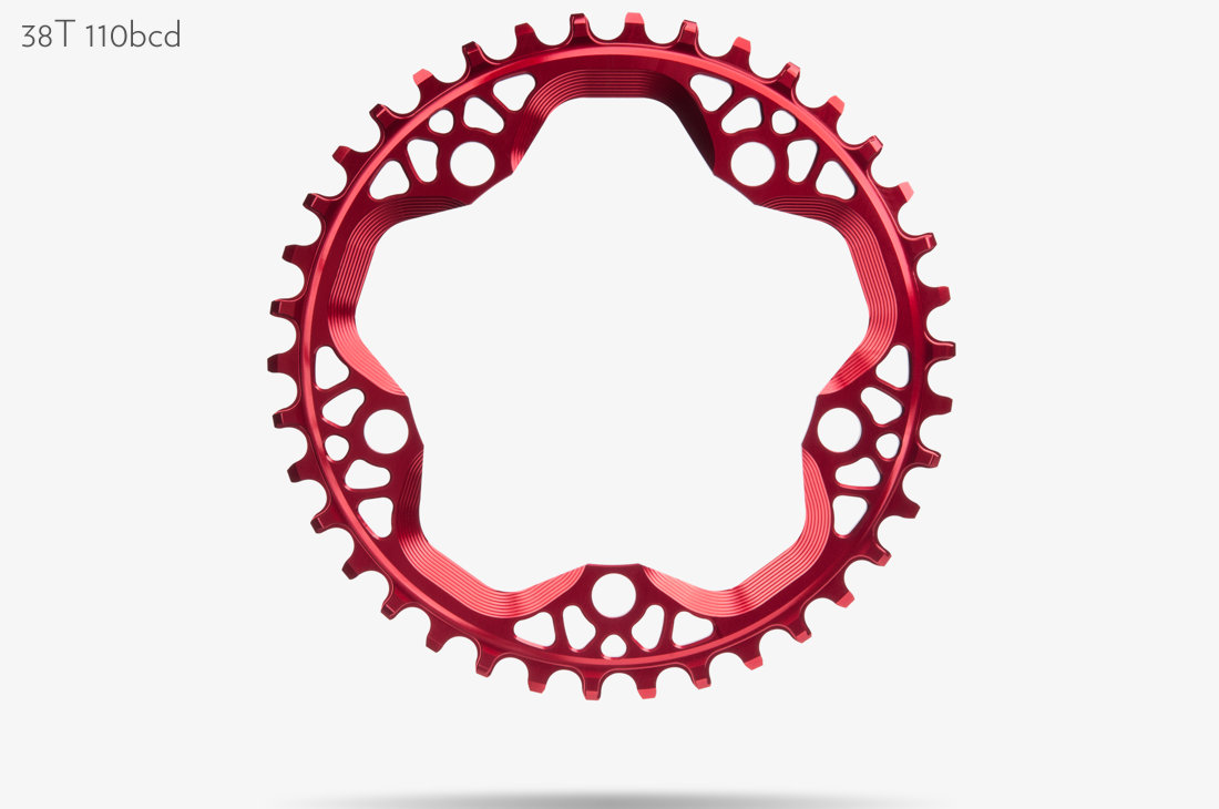 Absoluteblack Round Cyclocross 1x 110 130 Bcd Chainring