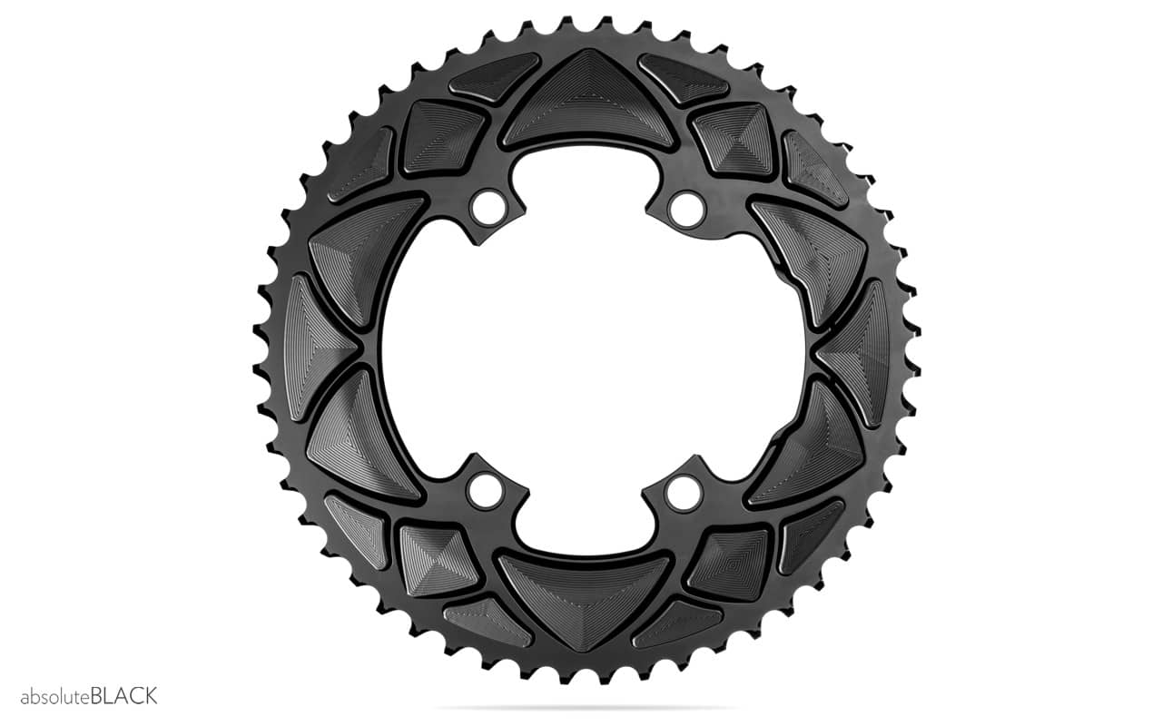 37878358bac absoluteBLACK | PREMIUM ROUND ROAD 2X FOR R9100 & ULTEGRA R8000 ...