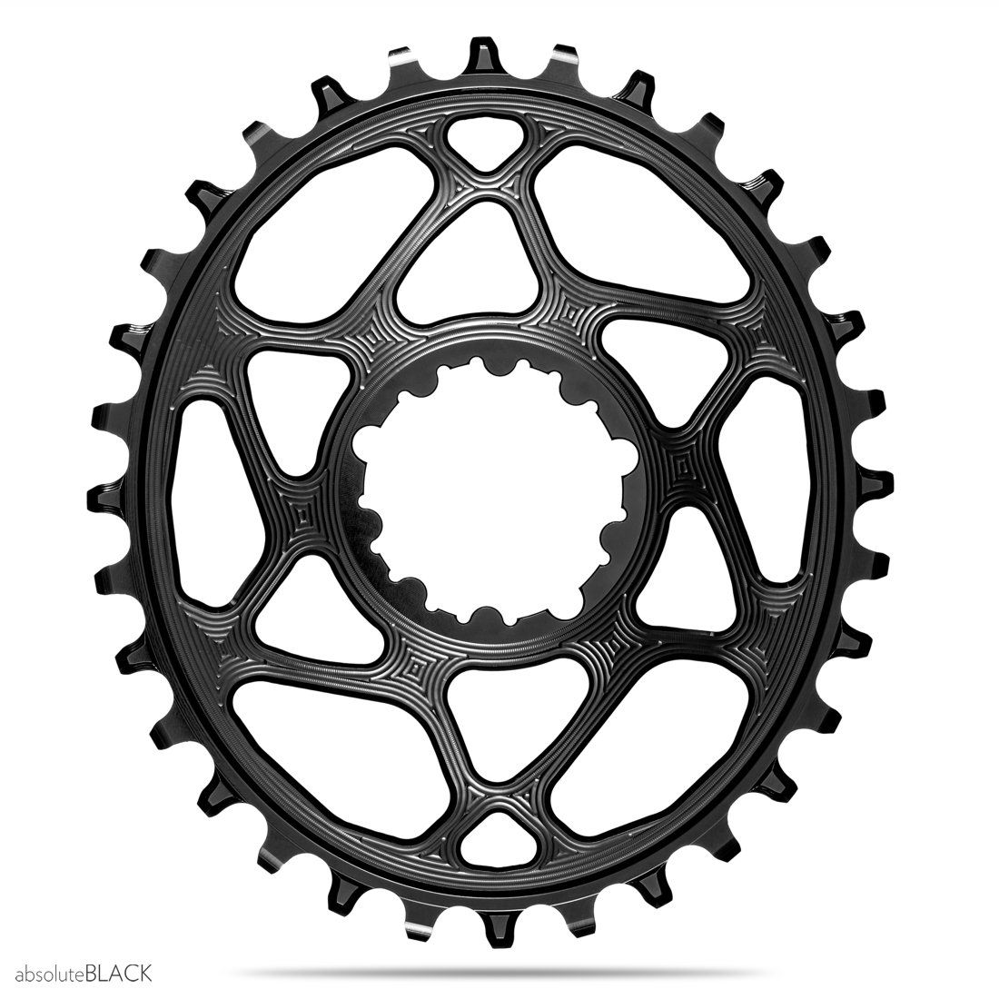 Oval Bicycle Chainring For Sram Boost 148 DUB GXP 3mm Offset X9 X0 XX1 eagle X0