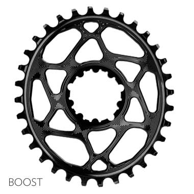 absoluteBLACK SRAM OVAL BOOST direct mount traction chainring