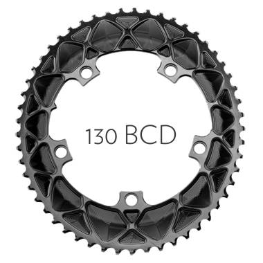 absoluteBLACK Premium OVAL ROAD 130/5 BCD chainring