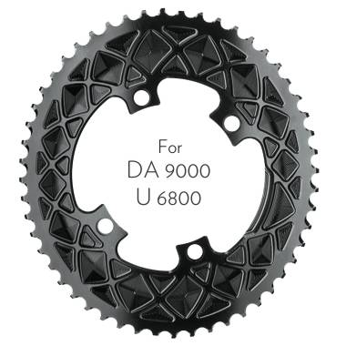 absoluteBLACK Premium OVAL ROAD 110/4 BCD chainring