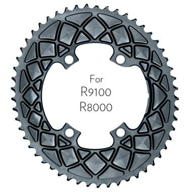 absoluteBLACK Premium OVAL ROAD 9100 / R8000 chainring